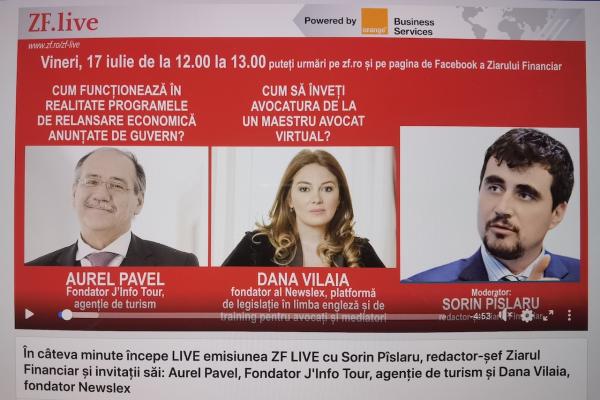 Ziarul Financiar - Interviu Av. Dana Vilaia